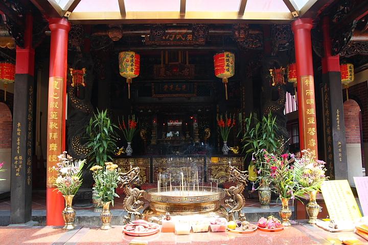 【臺北三重】一直很想來的「先嗇宮」~國家三級古蹟 - 佑佑皮皮在信誼 - 信誼親子玩家