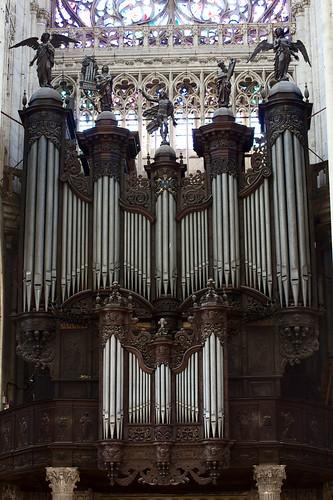 Orgue de l'abbatiale Saint-Ouen