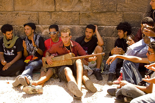 Moroccan youths