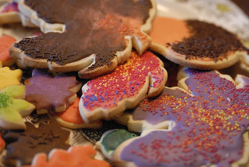 sugar cookies - from thanksgiving 2006