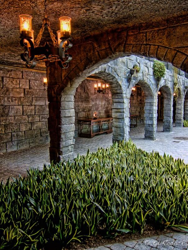 Interior of the resort's version of Castillo de San Marco
