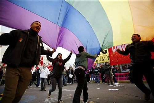 Marcha a favor de la Ley del Matrimonio gay en...