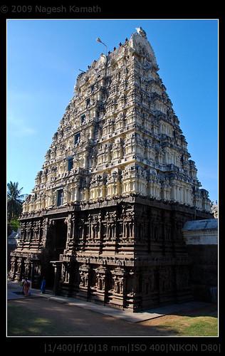 Jalakanteshwar temple | Vellore fort