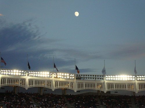 Moon Over Yankee Stadium