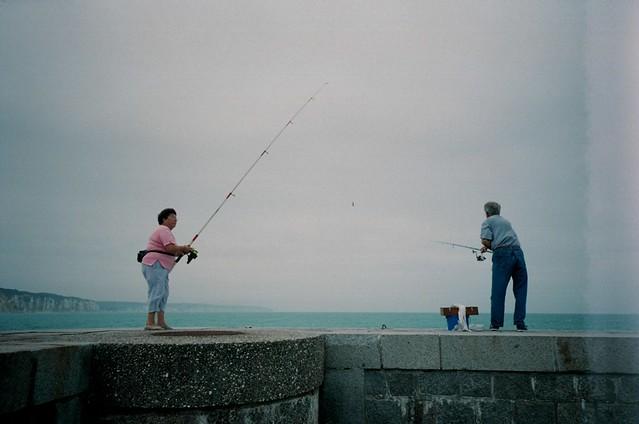 Fisherman & Fisherwoman...