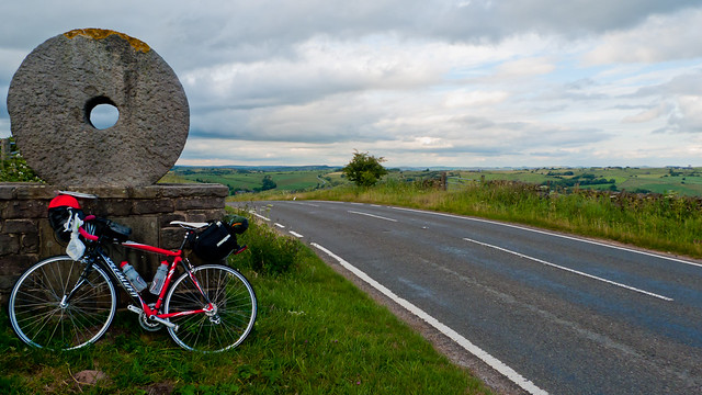The border of the Peak District National Park, Staffordshire