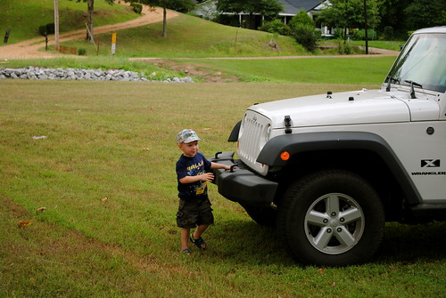 The Boy is more partial to Jeeps