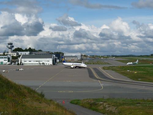 Torp Lufthavn fra en litt annen kant.