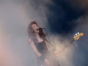 Melissa Auf der Maur live at Frequency Festival