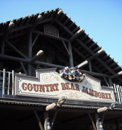 country bear jamboree piratetinkerbell tags show bear music west sign wednesday march hall [ 1024 x 768 Pixel ]