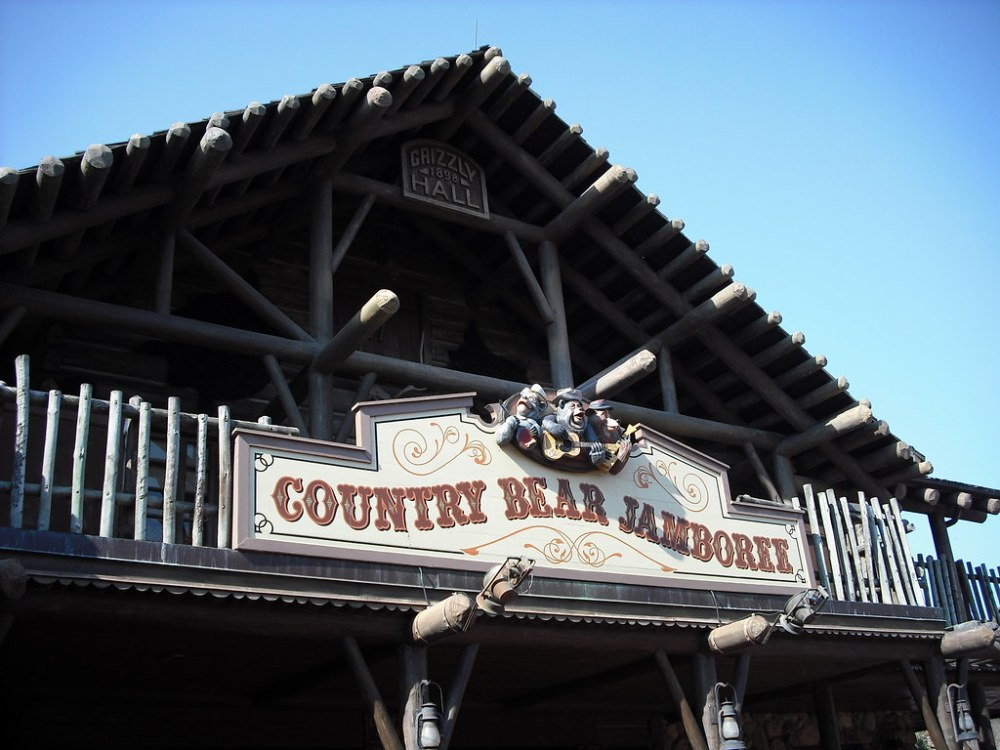 medium resolution of country bear jamboree piratetinkerbell tags show bear music west sign wednesday march hall