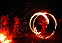 20100717 2343 - camping rave - 090 - fire twirling