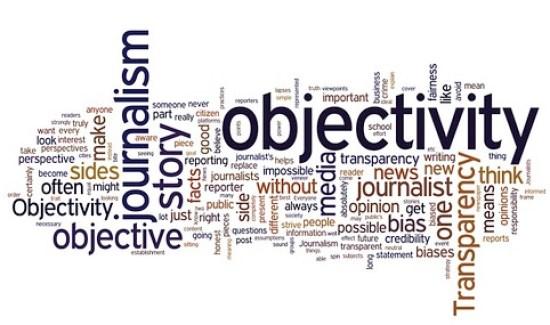 Objectivity in Journalism Wordle