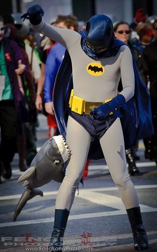 Adam West Batman - Shark Attack!