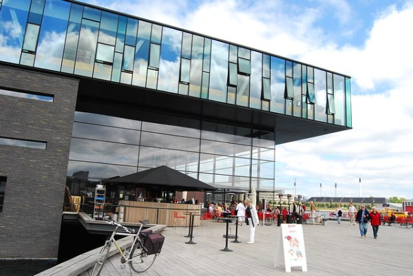 The new Café and Restaurant Ofelia at the Royal Danish Playhouse