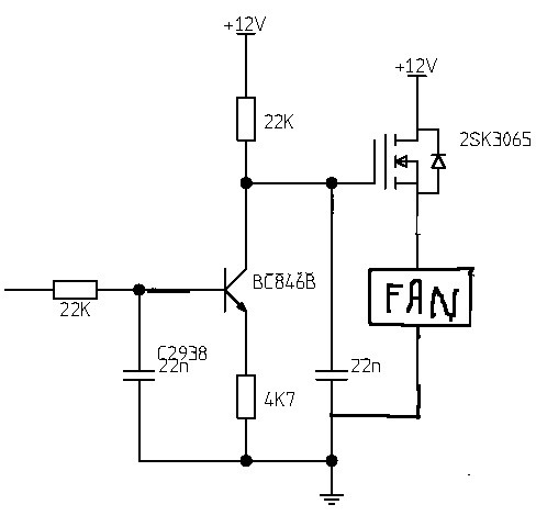 Control/vary LM317 output voltage with PWM