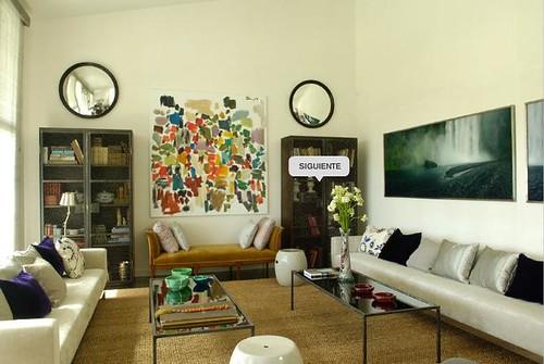 Isabel Lopez Quesada Somosaquas living room