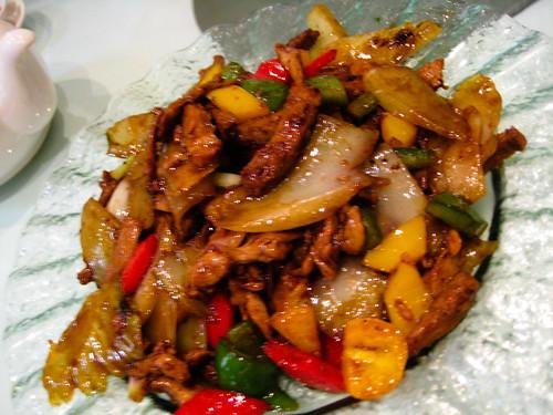 stir fried duck