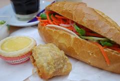 Vietnamese Breakfast in Springvale - close-up