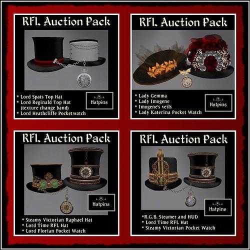 Hatpins - RFL Auction Packs