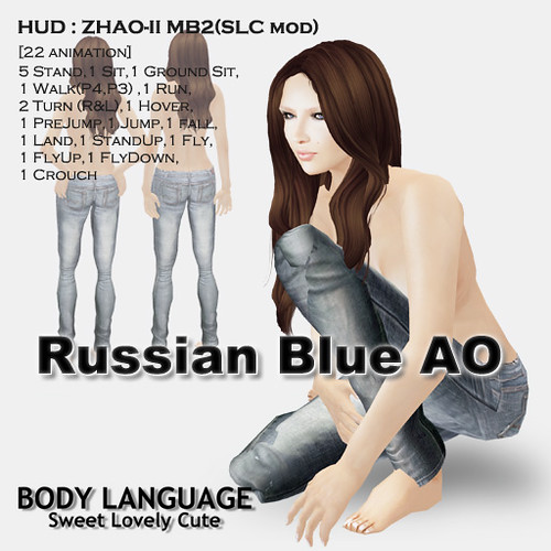 Russian Blue AO set