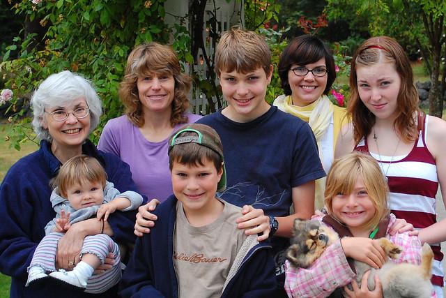 Deffenbaughs + cousins.