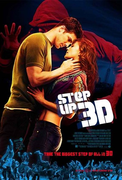Step Up 3D movie poster