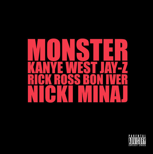 Kanye West x Jay-Z x Rick Ross x Bon Iver x Nicki Minaj - Monster