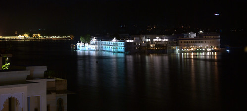 Lake Palace at Night
