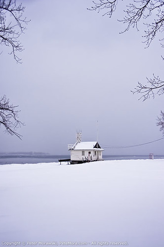 Snowy Wednesday: Cherry Beach