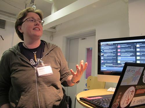 Presentations: Sarah's Marvin the paranoid laptop bot