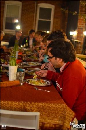 Orange Arrow Dinner DC