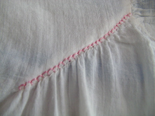 yoke shoulder detail