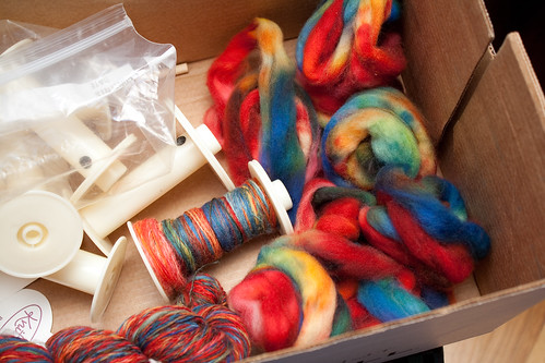 All Spun Up (Spinning in progress)