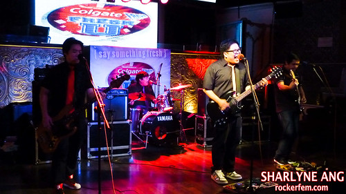 Itchyworms at the Colgate Fresh U Awarding