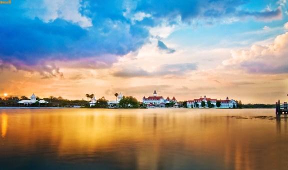 Grand Floridian Sunset