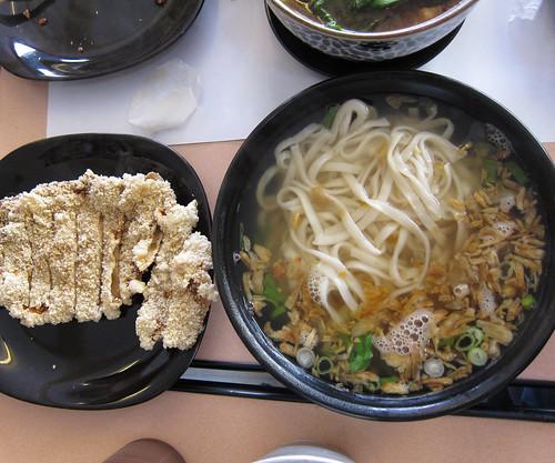 Taiwan Pork Chop Noodle (Jumbo) at Yen Yen Taiwanese Street Food