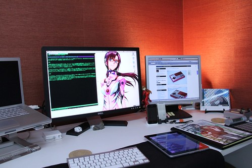 My Desk With Eva GIrls