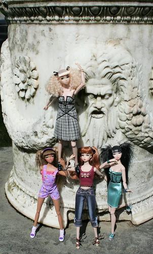 The Misaki Girls Invade Skylands