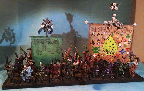 Horde of Plaguebearers with Banners
