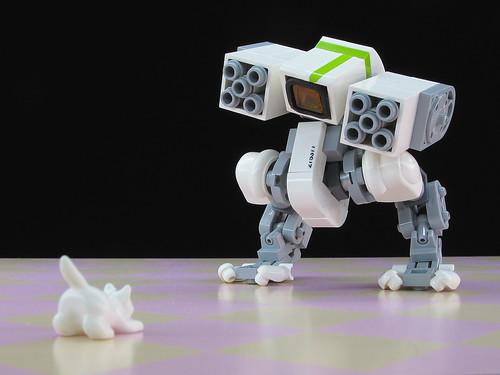 LEGO mondayn00dle 10 rocket mecha