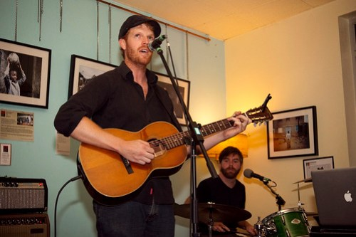 Ben Spencer @ Raw Sugar Cafe