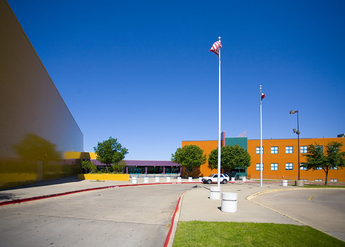 Moises E. Molina High School, Dallas - 2008 Bond image
