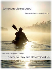 Most People Succeed... Because They Are Determ...