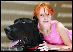 Sydni with Samson