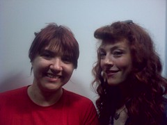 Me and Melissa auf der Maur