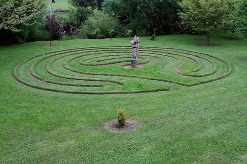 Planning A Labyrinth Vegetable Garden Thewiseacres