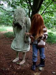 Weeping Girl & Daughter #1