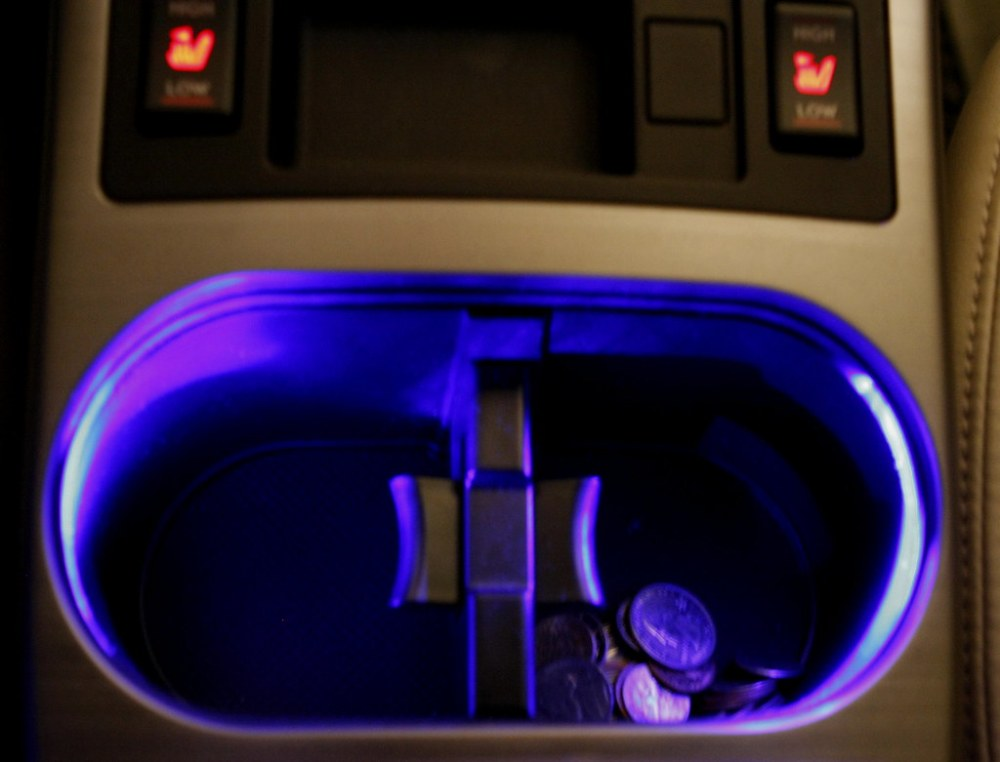 medium resolution of my interior illumination mod lighted cup holders subaru legacy forums