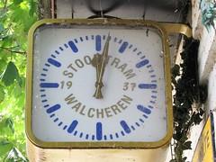 Koudekerke: Klok aan tramhalte